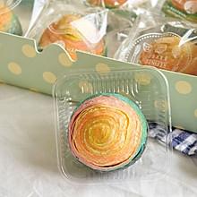 彩虹蛋黄酥(彩虹螺旋酥)