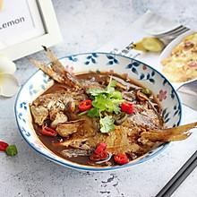 【家常红烧鲳鱼】#快手又营养,我家的冬日必备菜品#