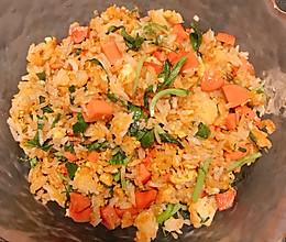 0基础的炒米饭的做法