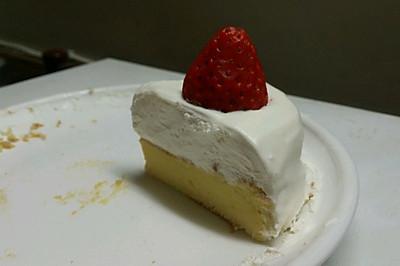 零基础我的私房蛋糕-简单的奶油草莓蛋糕6寸蛋糕模