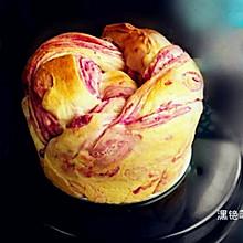 免揉【紫薯手撕面包】