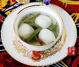 【祺宝家厨】杭州经典名菜:西湖莼菜鱼圆汤的做法