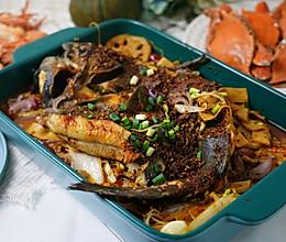 家常烤鱼(清江鱼)的做法