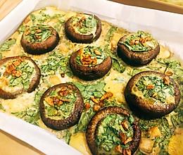 烤蘑菇(巨好吃!)的做法