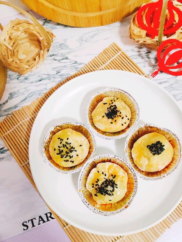 汤圆的神仙吃法,爆浆芝士汤圆蛋黄酥的做法