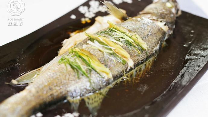 迷迭香:清蒸鲈鱼