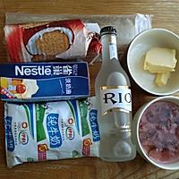 樱花慕斯蛋糕~鸡尾酒版的做法图解1