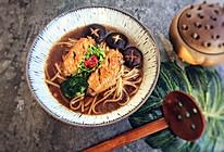 私厨·鸡翅汤面的做法