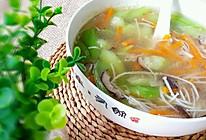菌菇丝瓜汤的做法