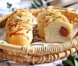 香葱芝士火腿面包的做法