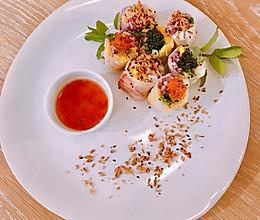 #餐桌上的春日限定#越式纸米卷2.0的做法