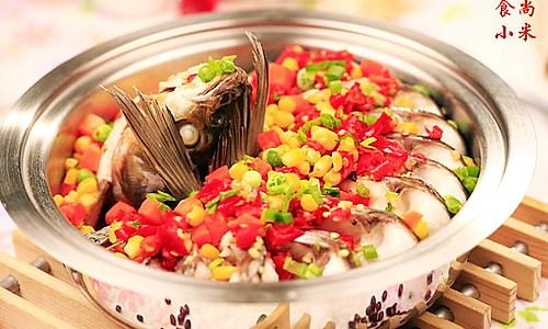 云南剁椒酱蒸鱼的做法
