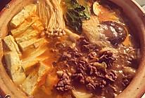 牛肉豆腐锅的做法