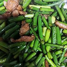 肉炒蒜苔(简单版)