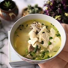 萝卜丝汤汁——长江鲫鱼萝卜豆腐汤