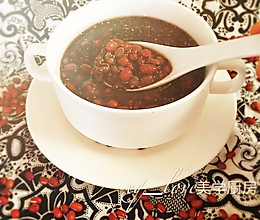 红豆薏米芝麻羹的做法