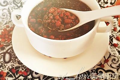 红豆薏米芝麻羹