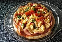 家常微波炉披萨的做法
