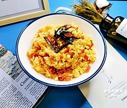 #餐桌上的春日限定#番茄芝士蛋炒饭的做法