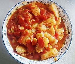 西红柿龙利鱼的做法