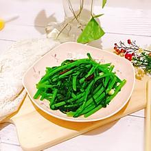 #母亲节,给妈妈做道菜#清炒茼蒿