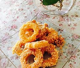 甜甜苹果圈的做法