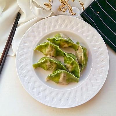 喜欢那春一般的绿——翡翠饺子