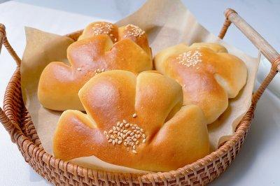 超柔软‼️奶香浓郁、零失败|卡仕达夹馅面包