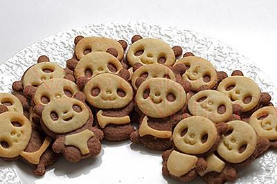 萌货熊猫饼干----送小朋友的六一礼物