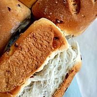 中种超软—不需手套膜—蔓越莓无黄油拉丝面包的做法图解9