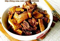 豆腐干烧鹅肉的做法