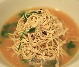 扬州煮干丝—《顶级厨师》参赛作品的做法