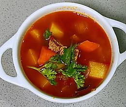 【孕妇食谱】罗宋汤,汤汁浓郁、酸甜可口,开胃营养又健脾~的做法