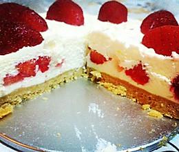 草莓芝士蛋糕的做法