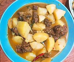 土豆烧牛肉(高压锅版)的做法