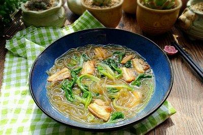 小白菜炖粉条#每道菜都是一台食光机#