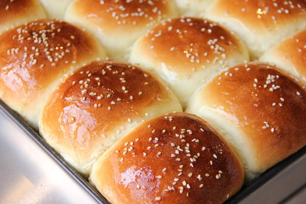 蜂蜜脆底小面包,简单易上手的营养早餐