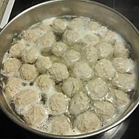 薄荷肉丸汤河粉的做法图解4