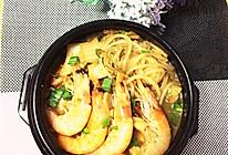 大喜大牛肉粉试用之一 酸菜炖豆腐的做法