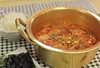韩式辣白菜豆芽汤的做法