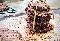 素食烘焙——椰香可可燕麦饼干的做法