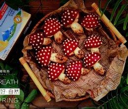 """#2021亲子烘焙组——""""焙""""感幸福#红伞伞巧克力曲奇饼干的做法"""