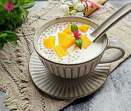 芒果牛奶西米露的做法