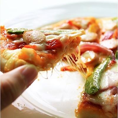 电饭煲什锦披萨