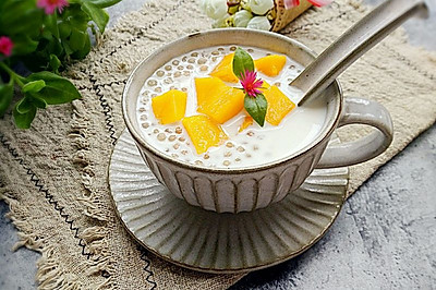 芒果牛奶西米露