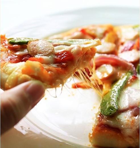 电饭煲什锦披萨的做法