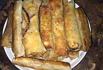 大白菜香菇肉丝春卷的做法