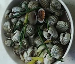 水煮血蛤的做法