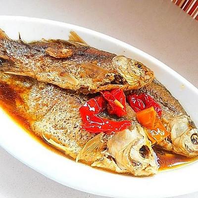 酥鱼-炖鱼-晚餐