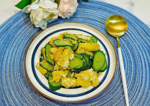 5分钟上手黄瓜炒鸡蛋的做法